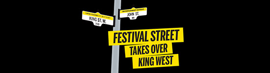 New This Year! Festival Street