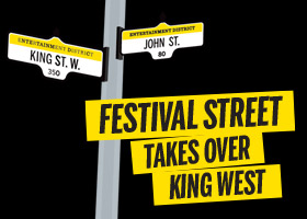 Festival Street takes over King West
